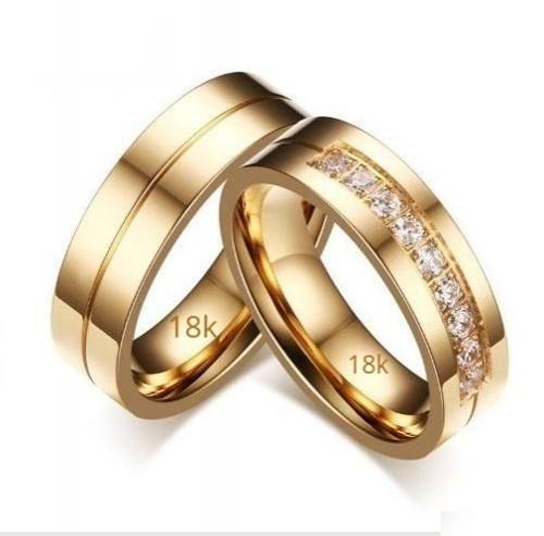28c67a2fa08d Argollas Para Matrimonio Oro Amarillo 18k Peso 8 Gramos -   1.050.000 en  Mercado