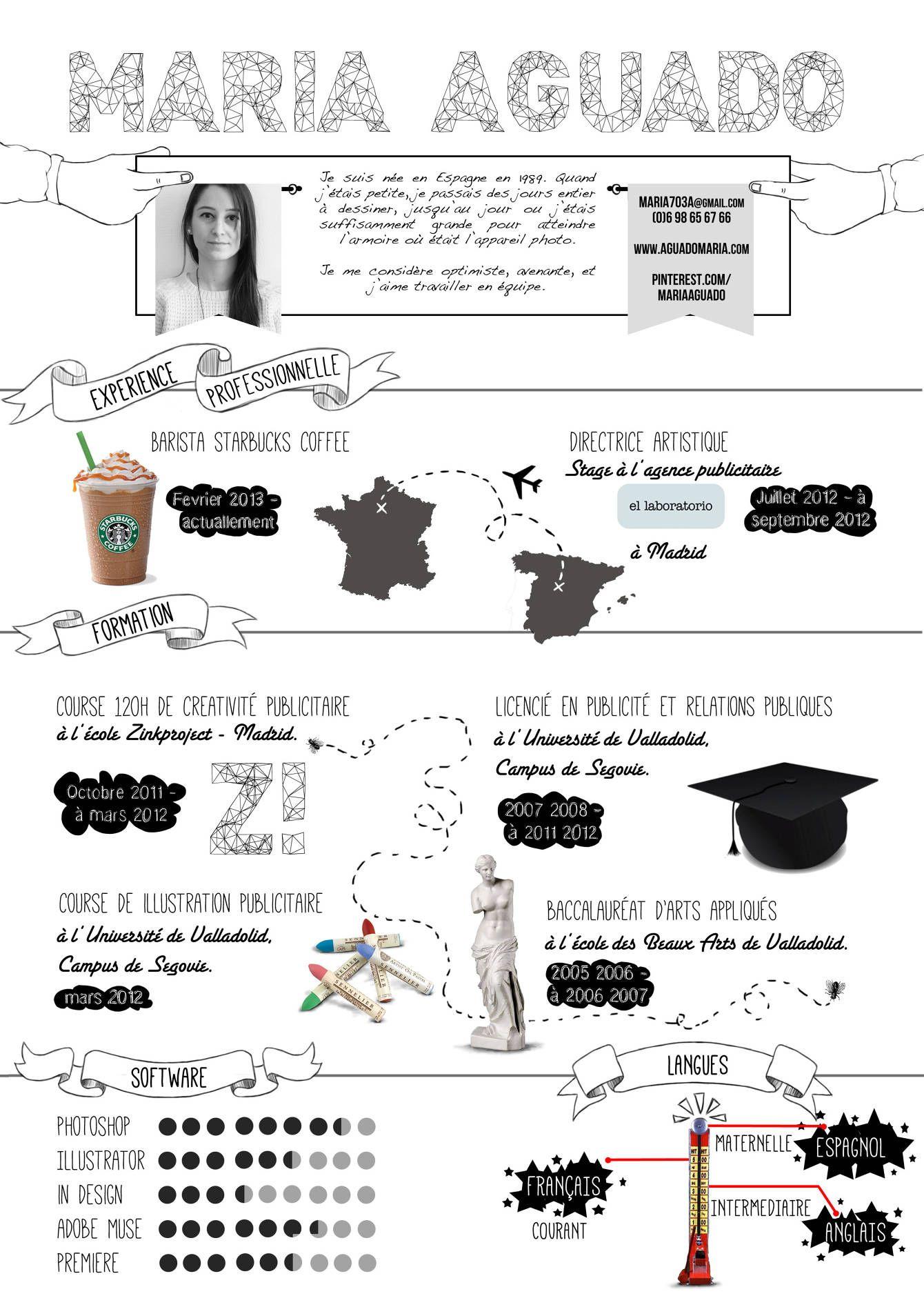 Curriculums creativos - JULIEN HEUMPLER | CV and PROPOSAL ...
