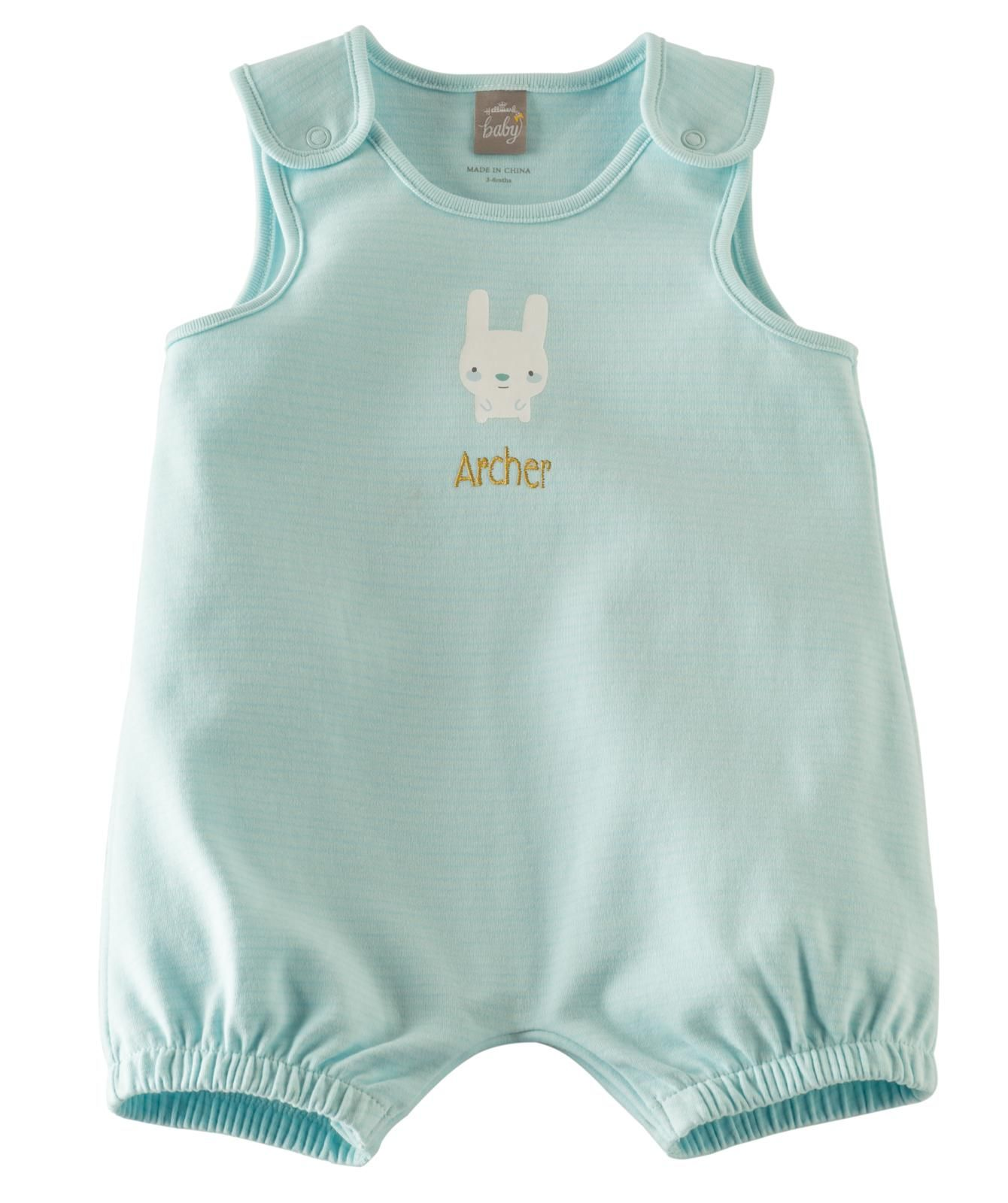 407819eba6c7 Sweet summer romper for baby you can personalize with custom ...