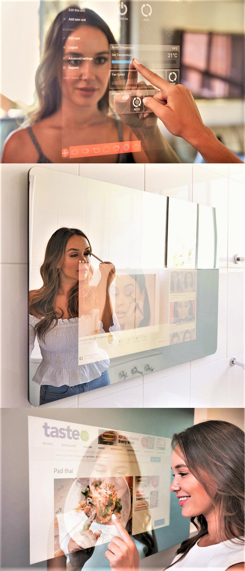 Embrace™ When it's off, it's just an elegant mirror