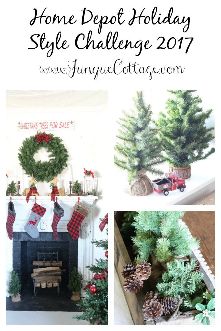 Home Depot Holiday Style Challenge Partnership | Pinterest | Holidays