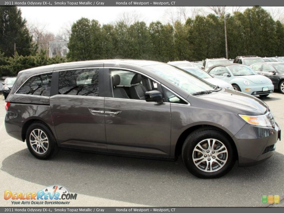 Marvelous Smoky Topaz Metallic 2011 Honda Odyssey EX L Photo #4 Our New Car!