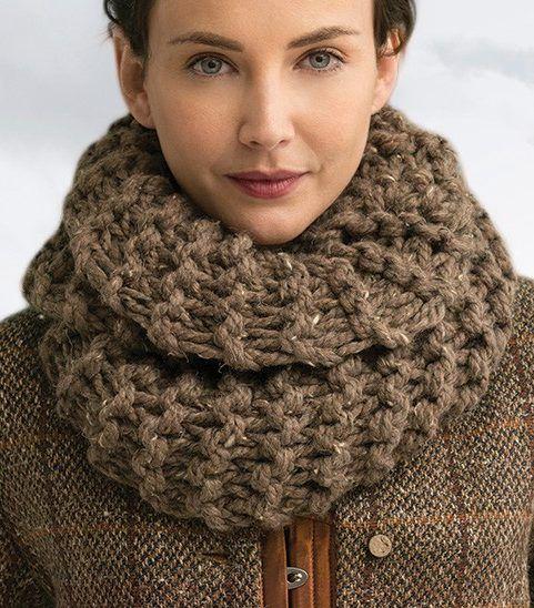Sassenach Cowl infinity scarf