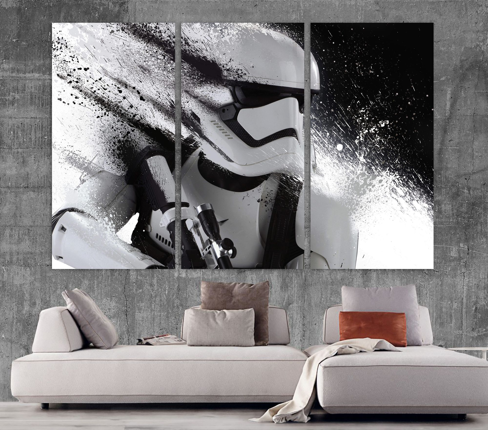 HD Print Oil Painting Home Decor Art on Canvas Thor Multiple Size Options