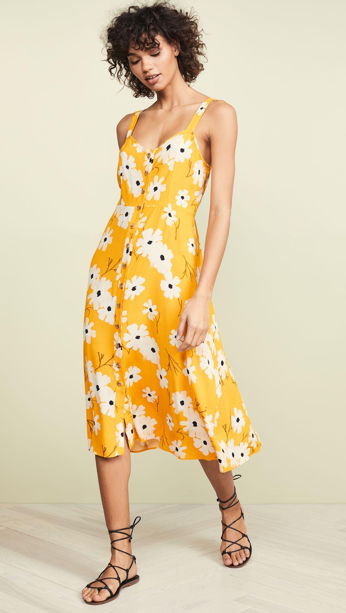 Madewell Cami Midi Dress Cami Midi Dress Dresses Midi Dress [ 2000 x 1128 Pixel ]