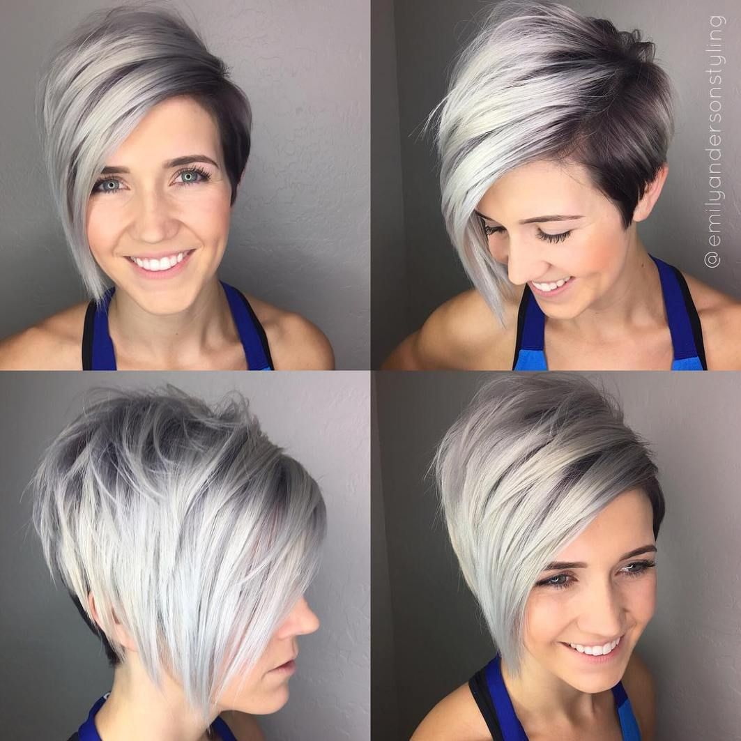 Pin on Short shag hairstyles
