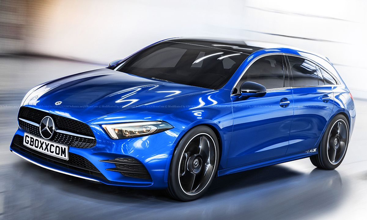Cla Shooting Brake >> Mercedes Cla Shooting Brake 2019 Motor Dream Car I Want