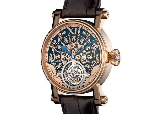Watches By SJX: Speake-Marin Introduces Tourbillon Inspired by Anc...