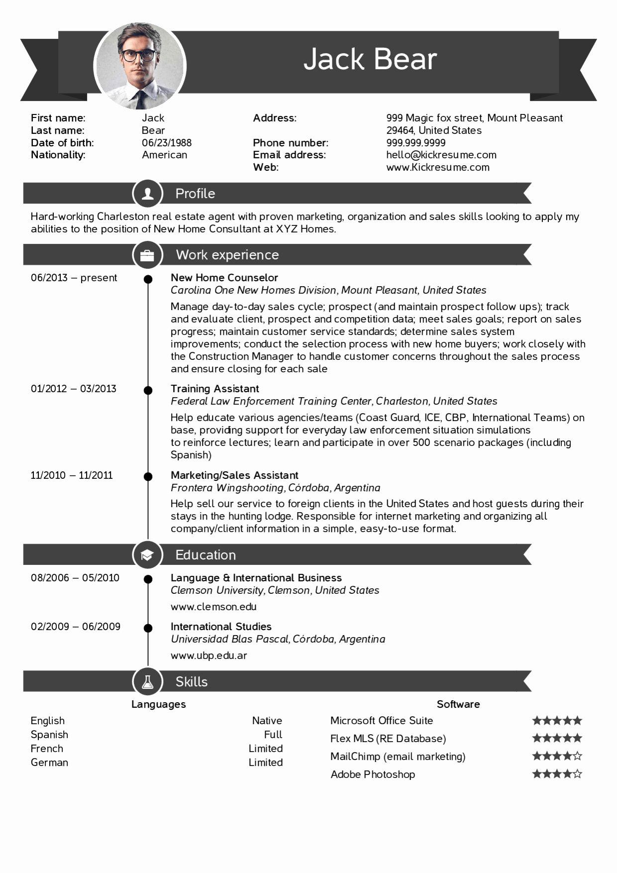 Real estate agent resume description awesome resume