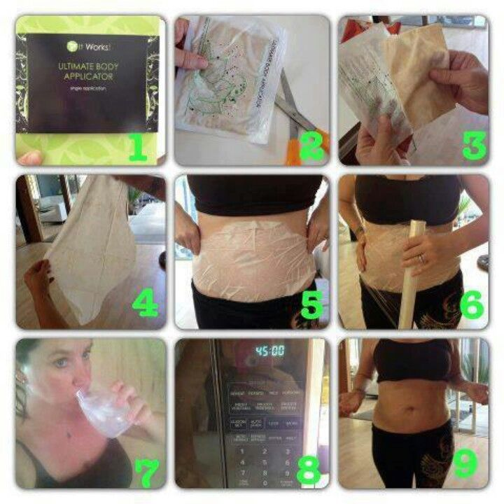 The Body Wrap Process 45 Min Of Magic Wraps Are Really This Easy
