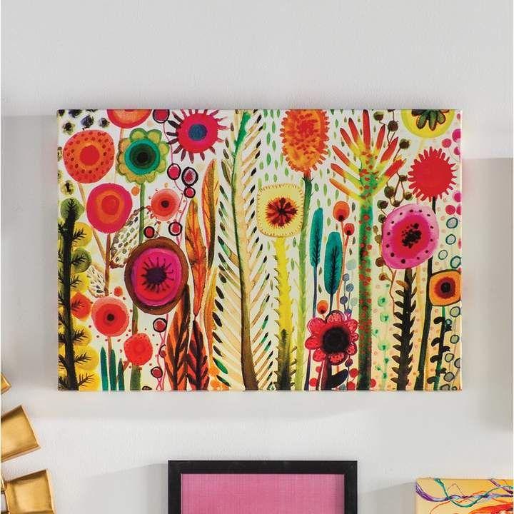Bungalow Rose Printemps Painting Print On Wrapped Canvas Canvas Wall Art Wall Canvas Painting Prints