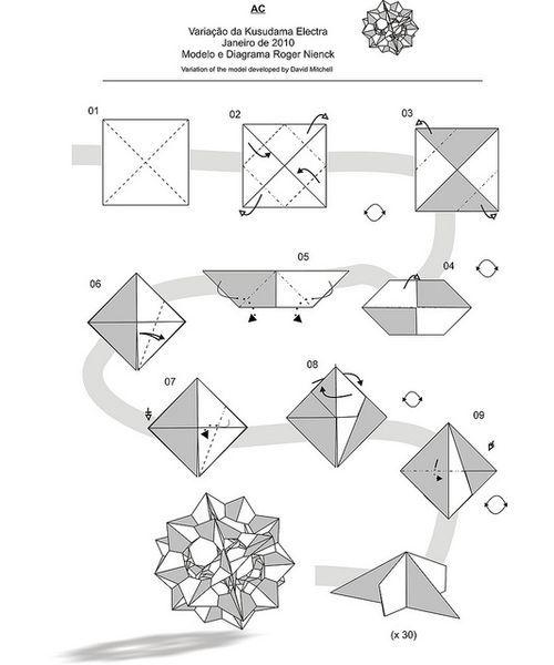 Free Printable Origami Ninja Star Instructions