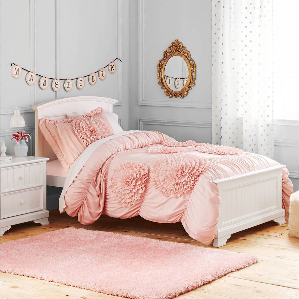 walmart com bonus bedding a twin pink with wars bag bed comforter piece ip tote star set in