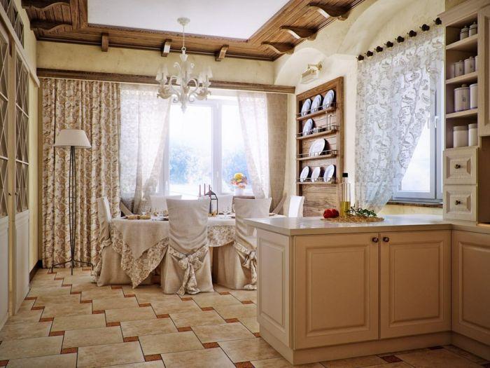 La cuisine style campagne - décors chaleureux vintage - Archzinefr