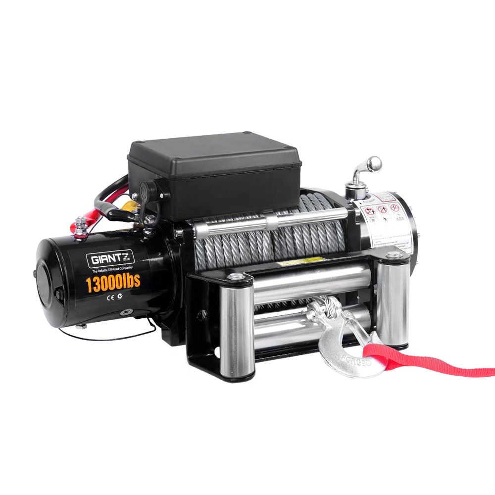 13000 LBS Electric Winch Steel Wire w/ Remote | AUTOMOTIVE - Winches ...