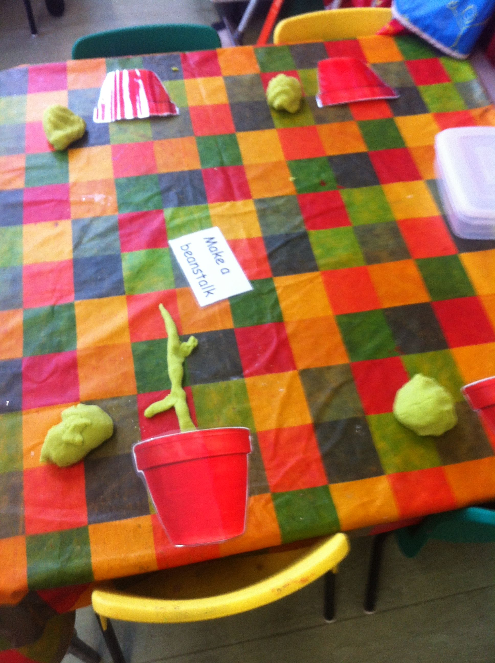 Jack And The Beanstalk Play Dough Encourages Rolling