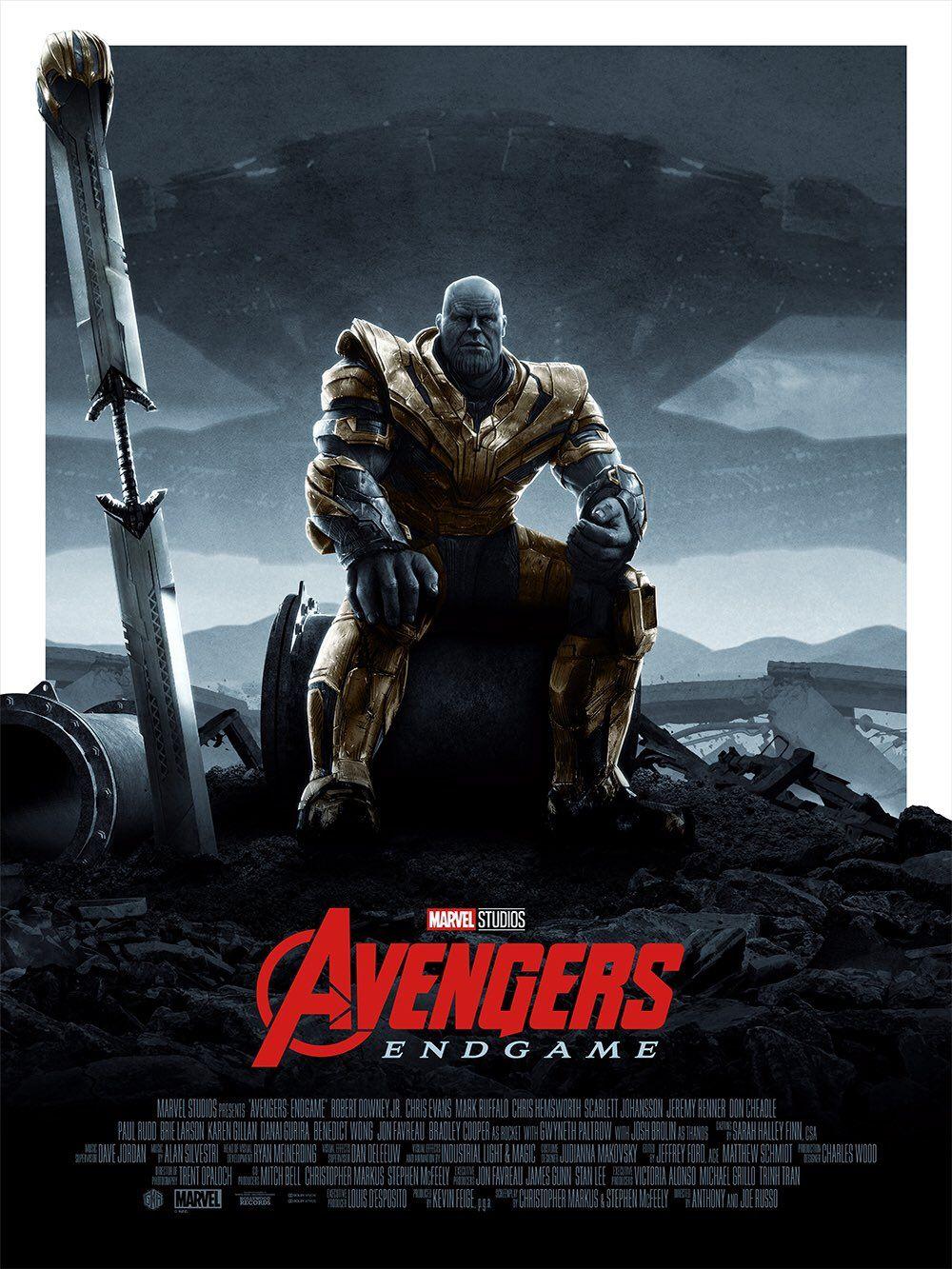AVENGERS ENDGAME Thanos Is Inevitable On This Amazing