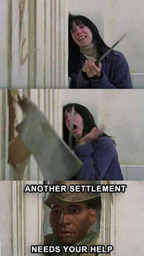 Fallout 4 Preston Meme