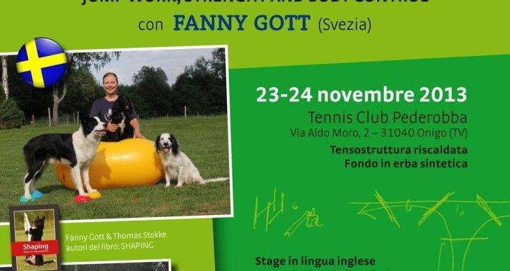 FANNY GOTT: Tecnica del salto, controllo e rinforzo del corpo