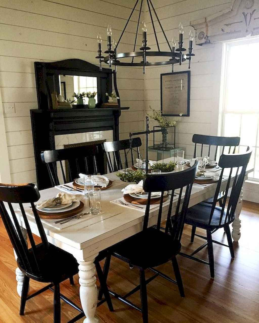 magnolia home dining table and chairs