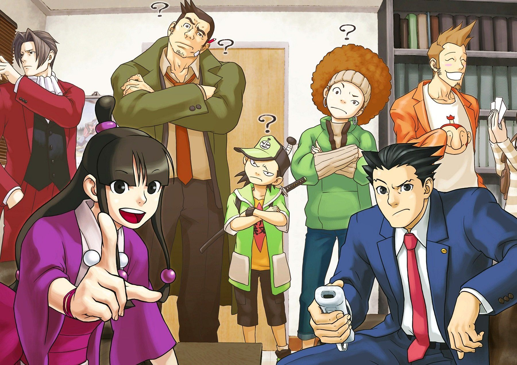 Phoenix Wright Ace Attorney Poster Hd Backgrounds Gaming Wall Art Art Prints Online