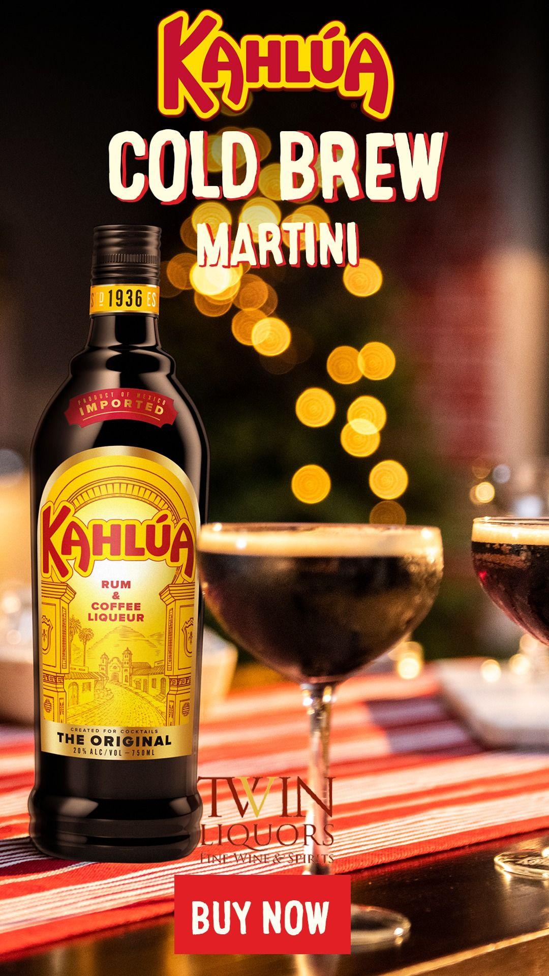 Kahlúa Cold Brew Martini Festive drinks, Kahlua, Drinks