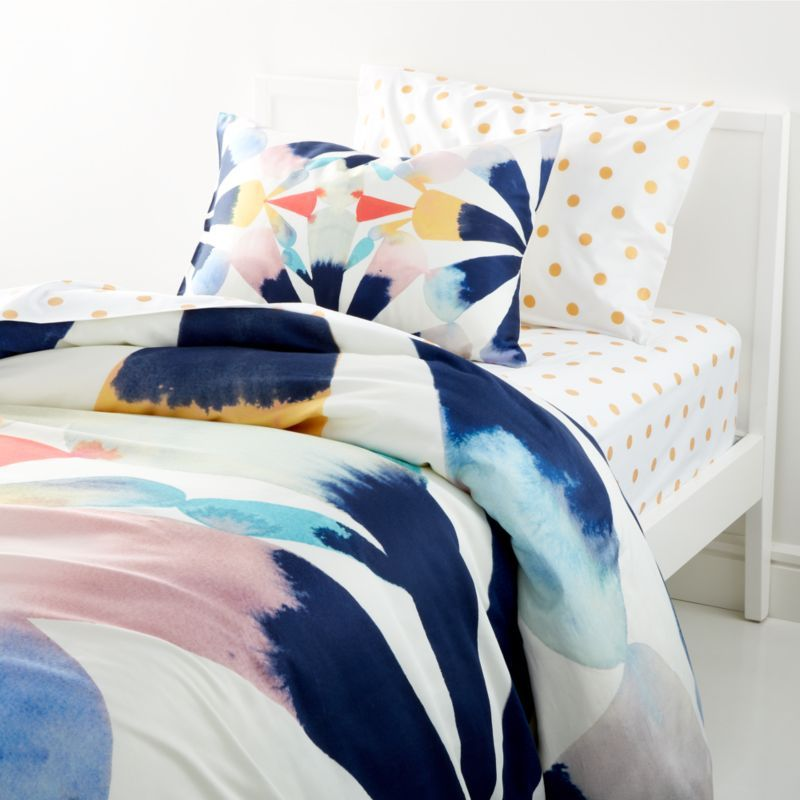Painted Fan Duvet Cover Crate And Barrel Painted Fan Duvet Covers Twin Twin Duvet