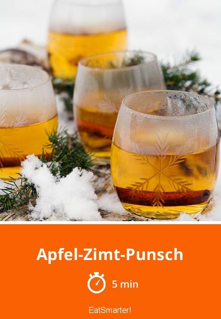 Apfel-Zimt-Punsch