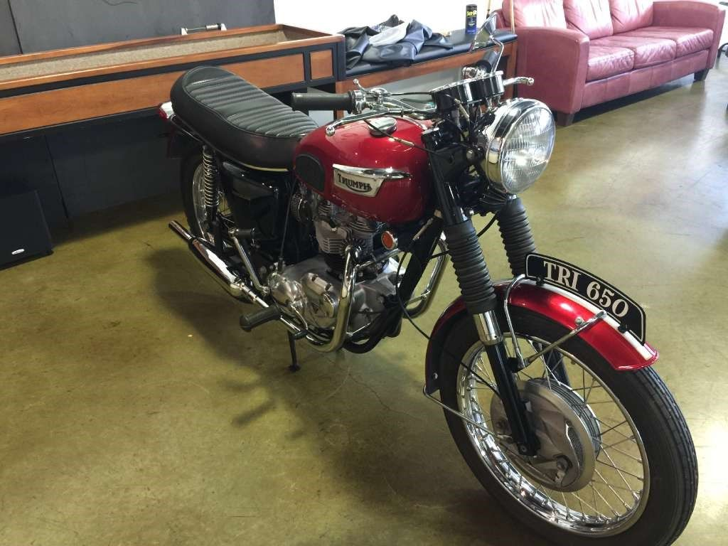1969 Triumph Triumph Tiger 650 TR6R Motorcycles for sale