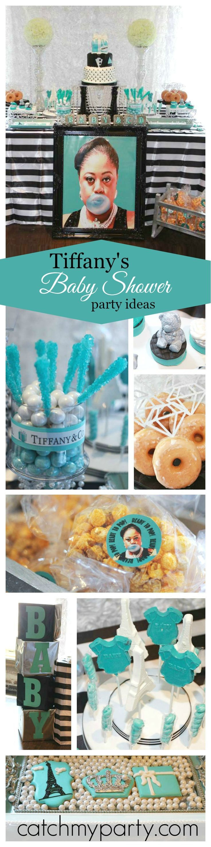 Tiffanys Baby Shower Tiffany And Co Inspired Ready