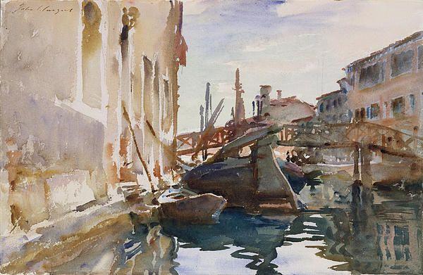 Giudecca John Singer Sargent #watercolor jd