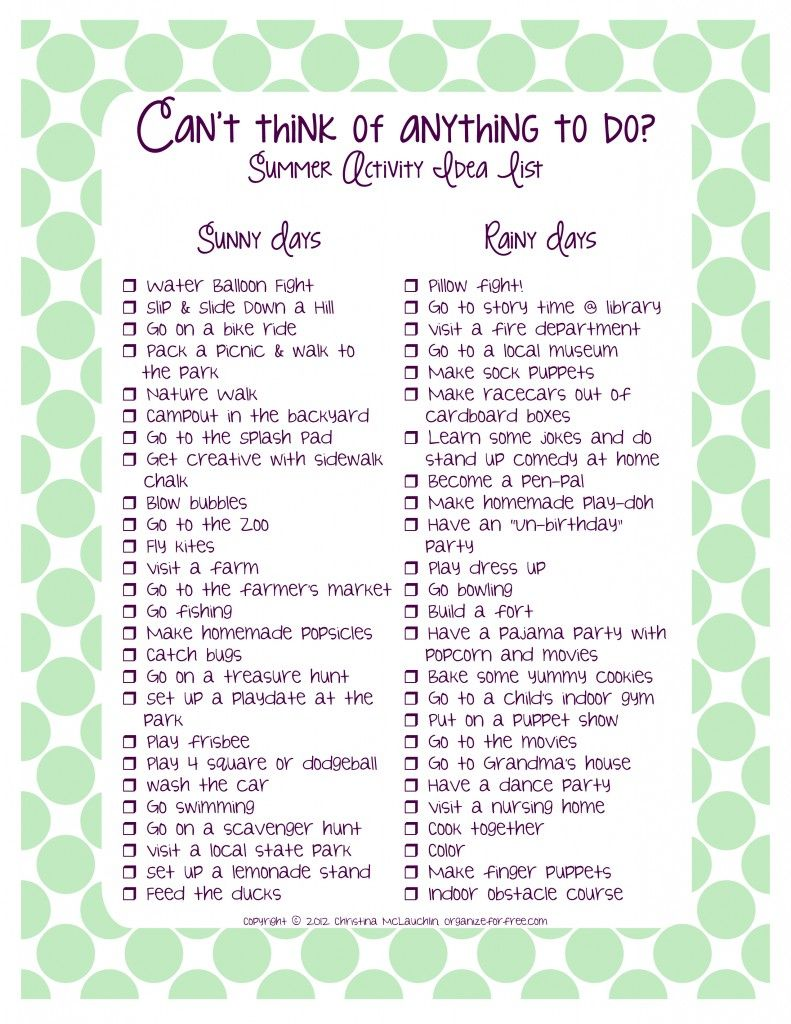 Summer Bucket List Printables (freebies | Kid Stuff | Pinterest ...