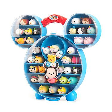 You'll soon be able to store your very own #TsumTsum Squishies in this handy carry case! It also comes with a limited edition fuzzy feel Stitch. Register now for stock notifications!  http://bit.ly/1Uyb6tq