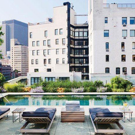 Christina Hale and Michael Hirtenstein : Michael Hirtenstein's Manhattan Triplex : Architectural Digest