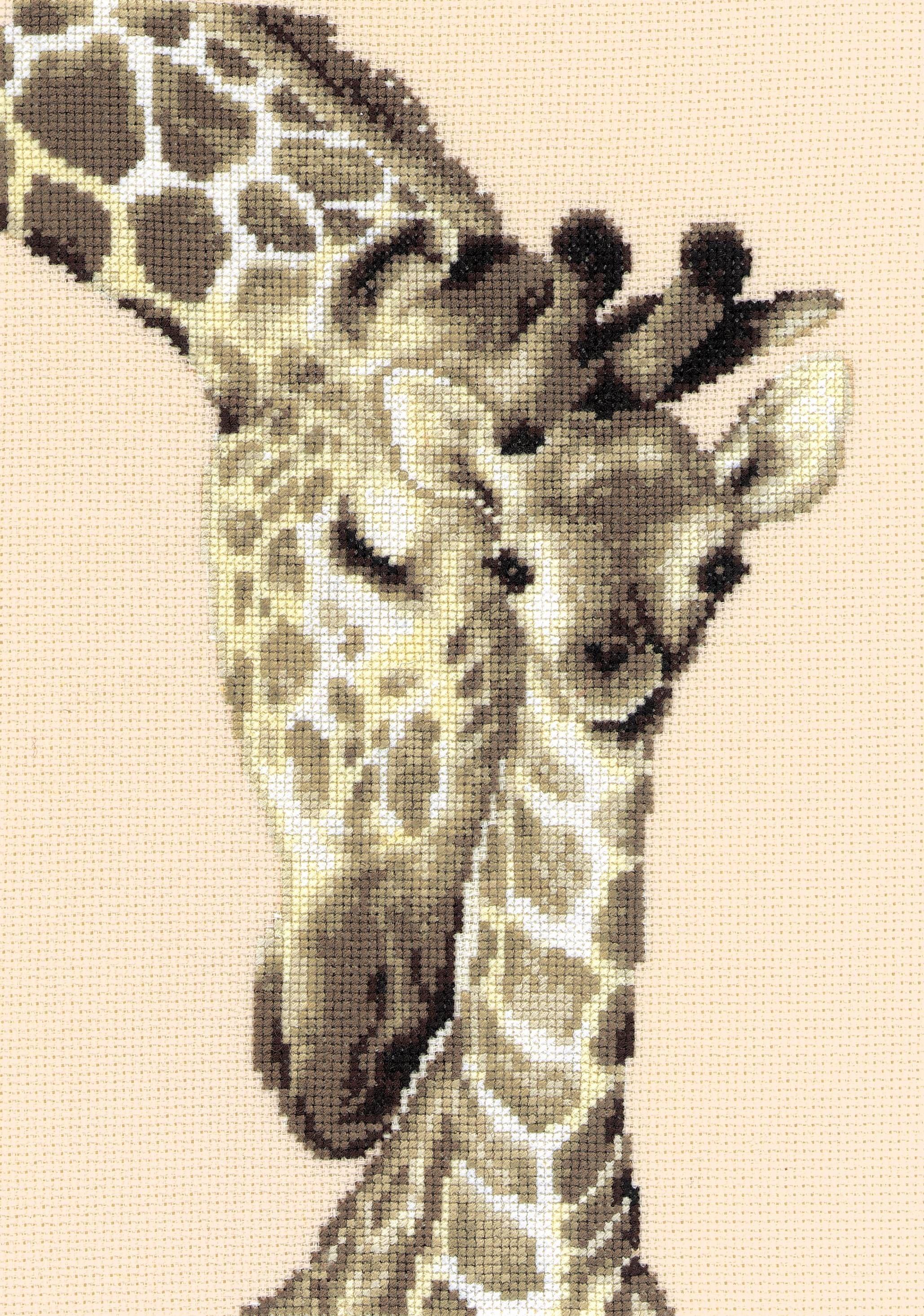 Giraffe Counted Cross Stitch Kit Wildlife//Animals