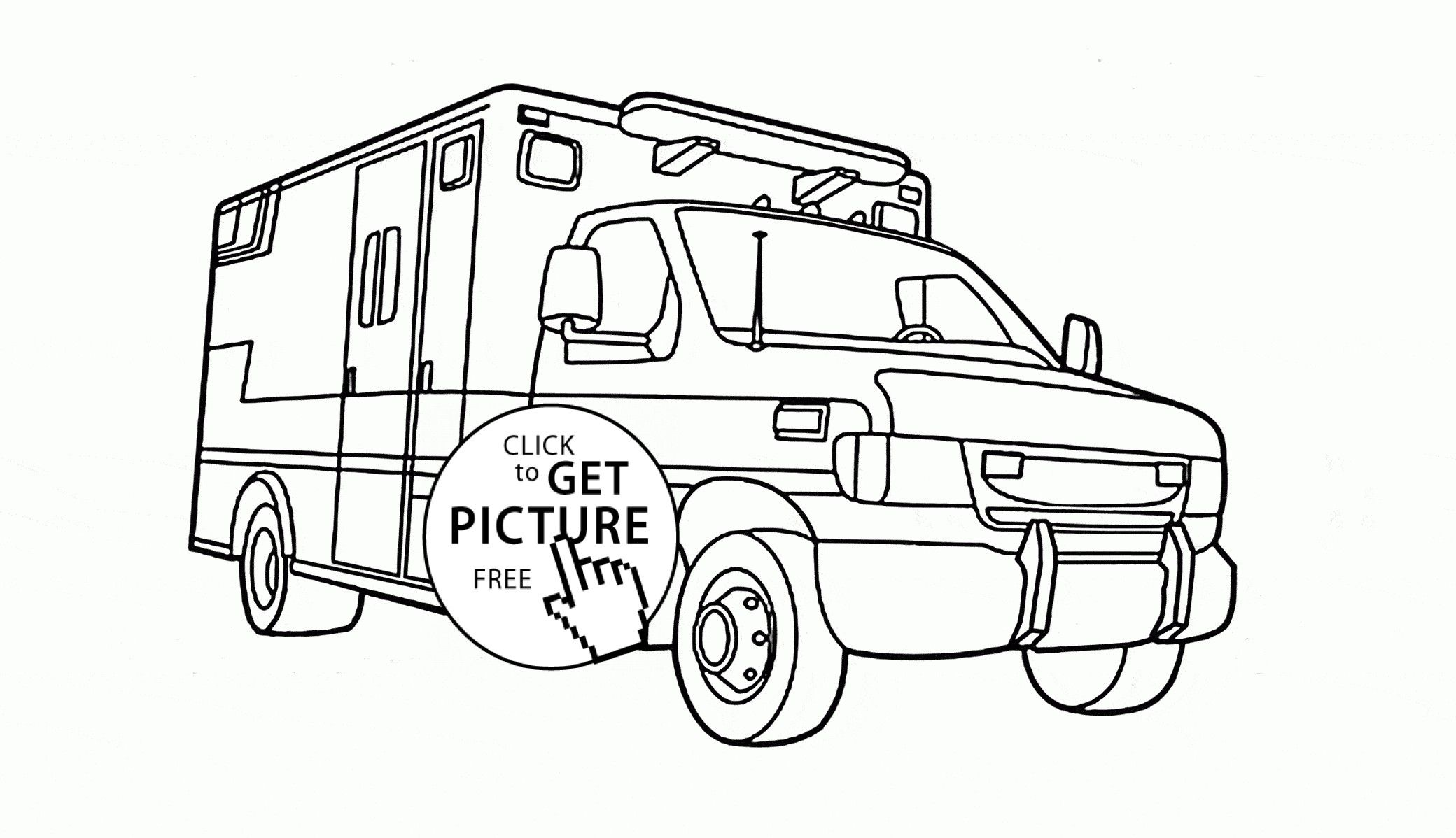 Rescue Vehicles Coloring Pages Gallery