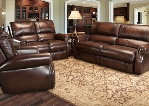Hawthorne Brown Wipe Leather Sofa Tom S Farms Home Store