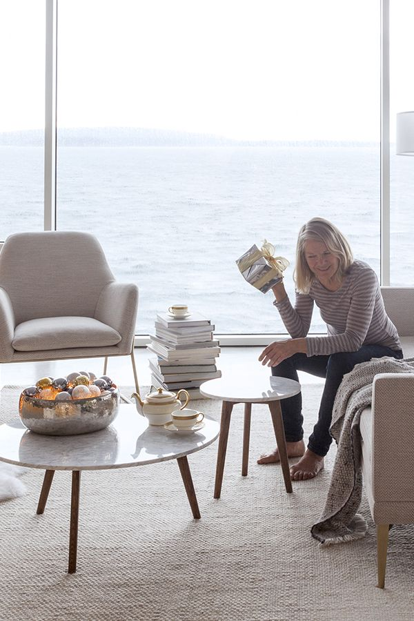 Mara Walnut Coffee Table Coffee Table Mid Century Modern Living