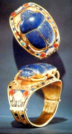 Ancient Egyptian Jewelry The Scarab Beetle Symbolizes Hope