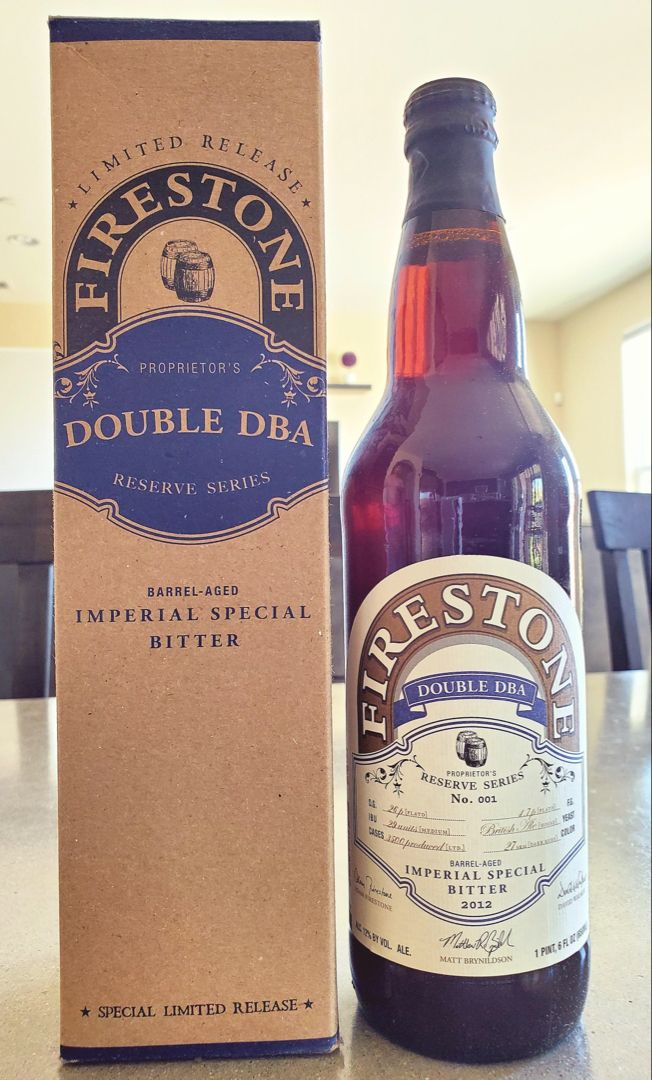 Woah! Check this Firestone double barrel ale! Looks like