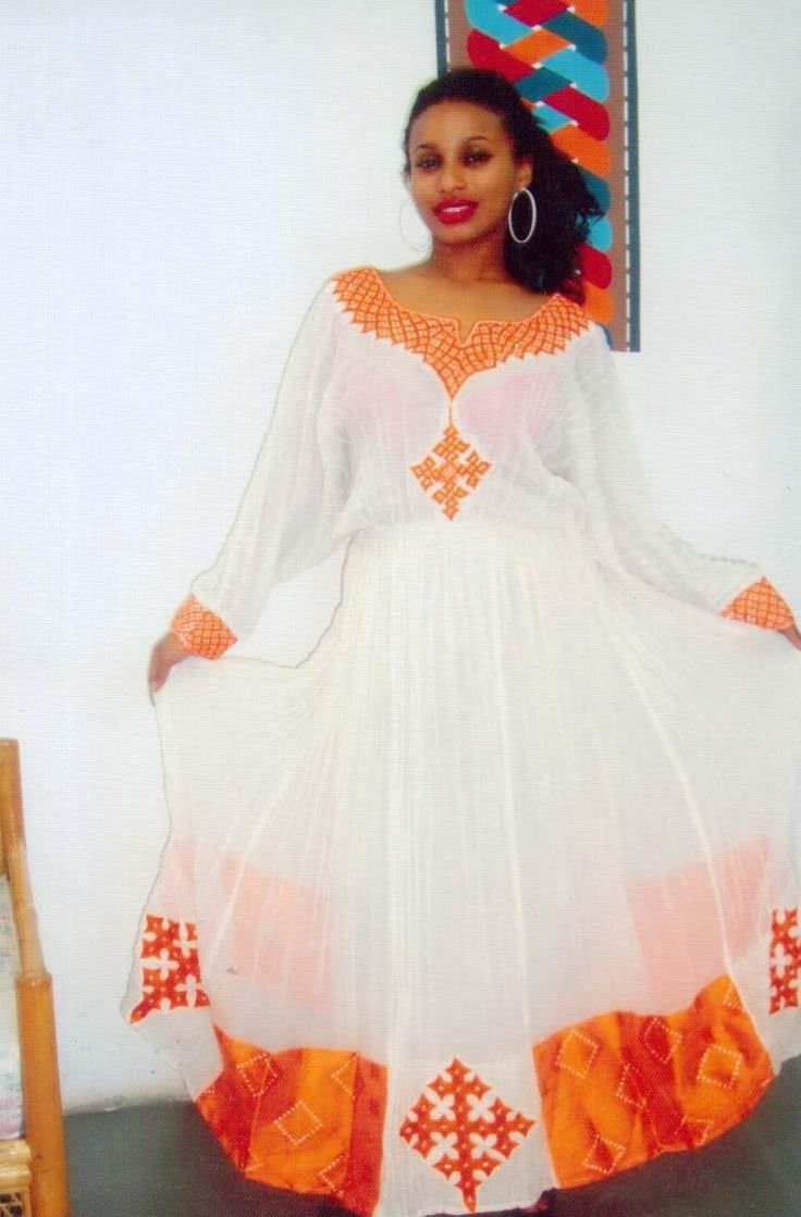Ethiopian Traditional Clothes Design Africana/African Forev...