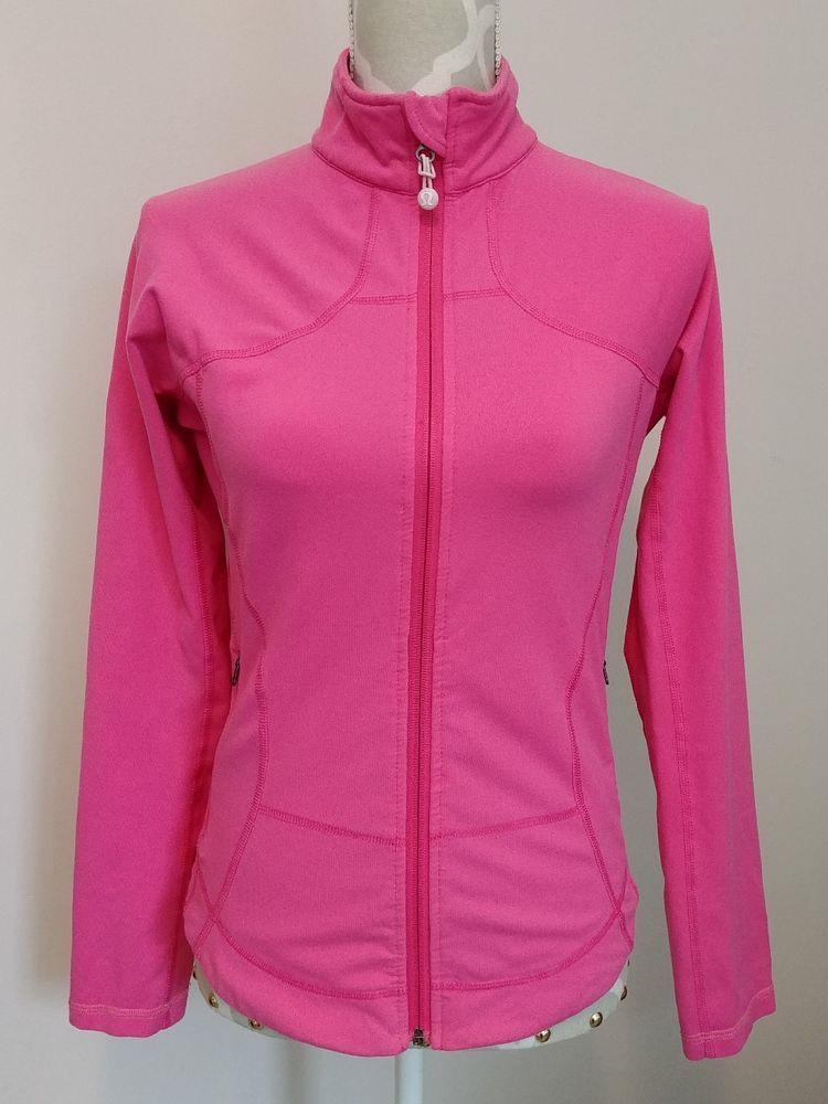 Lululemon Hot Pink Define Running Jacket Womens Size 8  Lululemon   AthleticJackets 3dd507de8