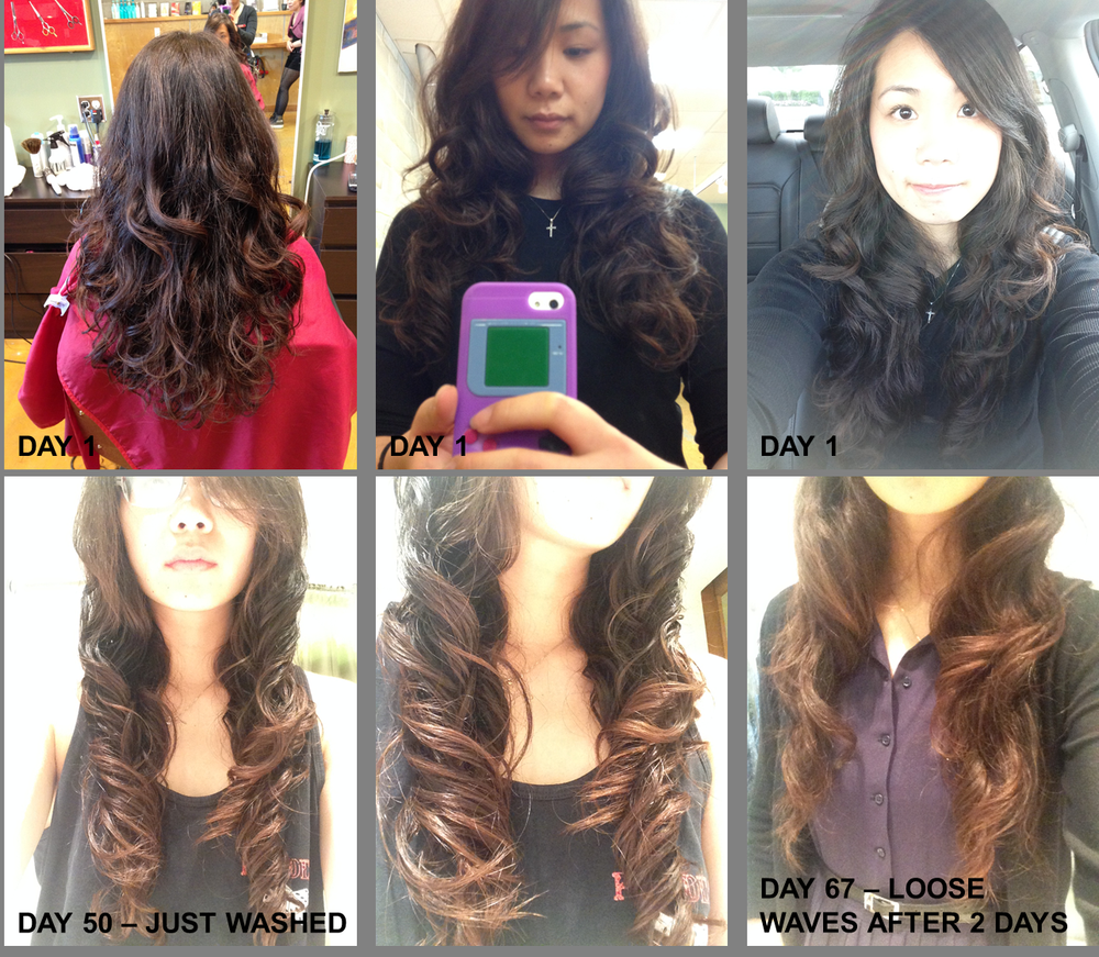 My Digital Perm After 2 Months Yelp Hairstyle Digital Perm