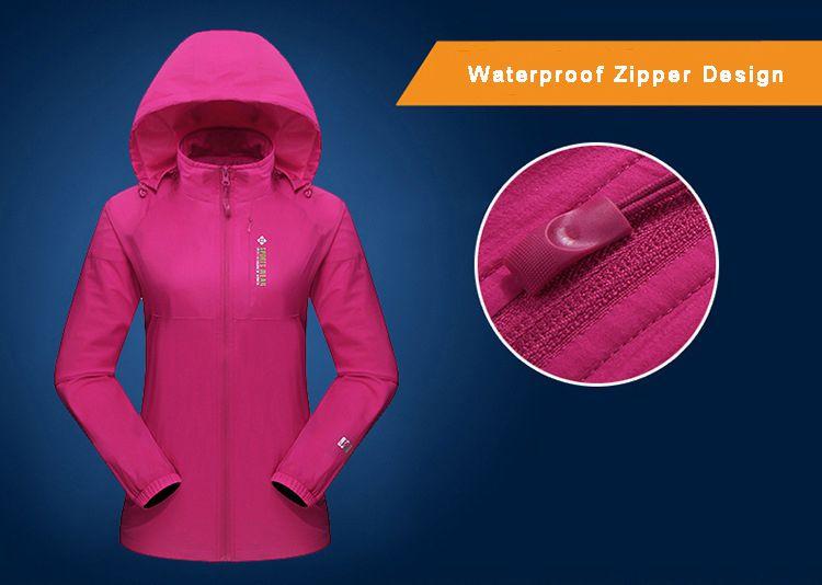 Custom Team Windbreakers Jackets Waterproof Men & Women 39 | Apparel
