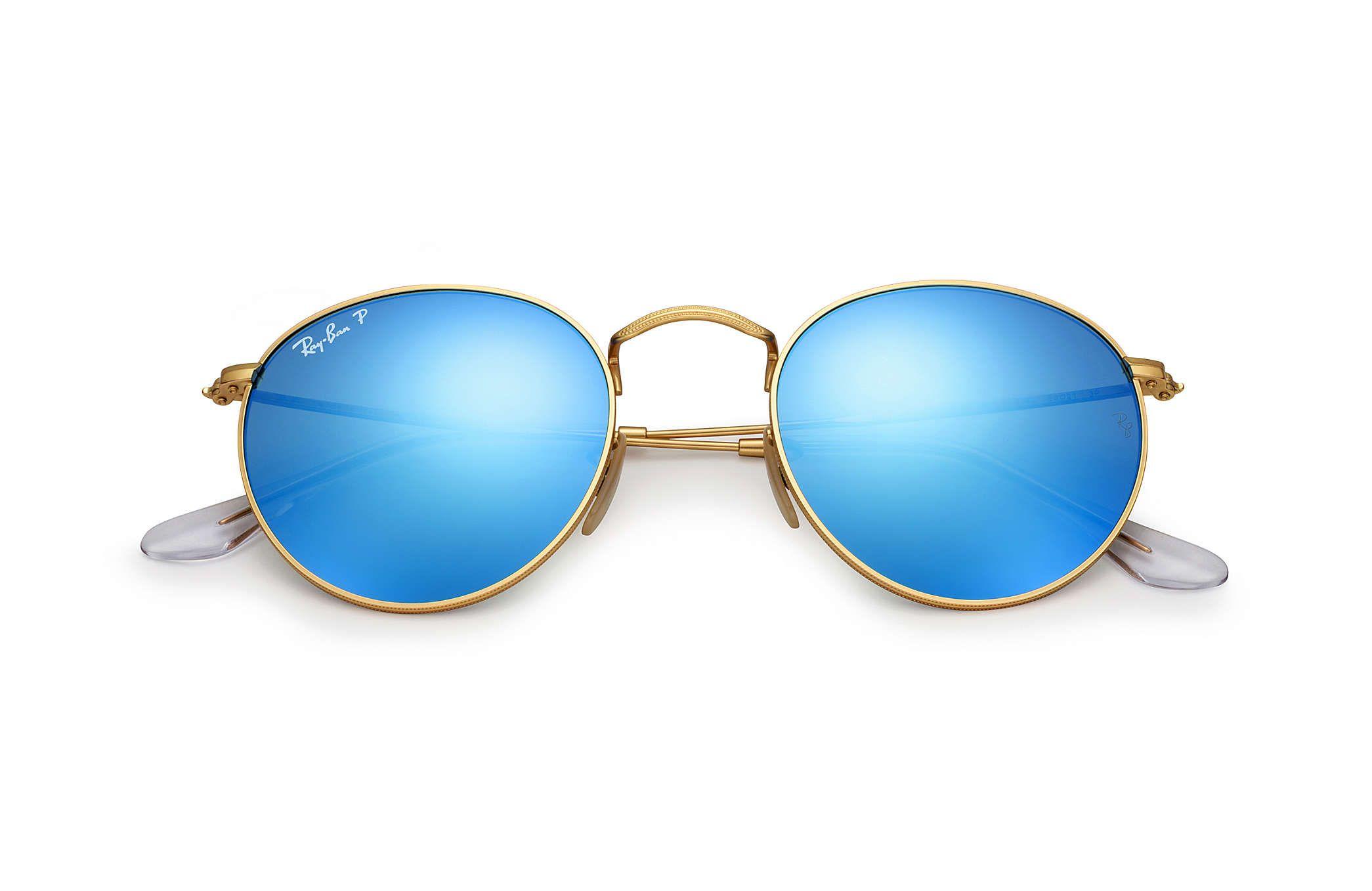 ... sunglasses gold frame 59bf9 6f3c0 store ray ban 0rb3447 round flash  lenses gold sun 5b33e d9102 ... e128c8162de0