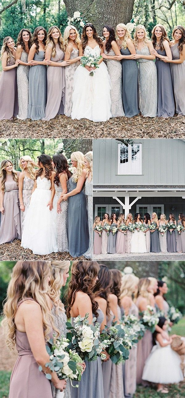 Trending Top 10 Mismatched Bridesmaid Dresses Inspiration For 2018 Oh Best Day Ever Wedding Bridesmaids Wedding Bridesmaid Dresses Neutral Bridesmaid Dresses