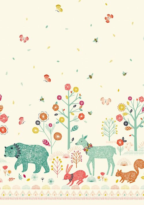 Nature Trail - new collection coming soon! By Bethan Janine for Dashwood Studio