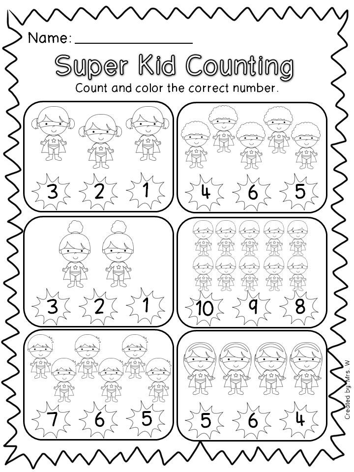 Image Result For Superhero Worksheets Pre K  Superheros