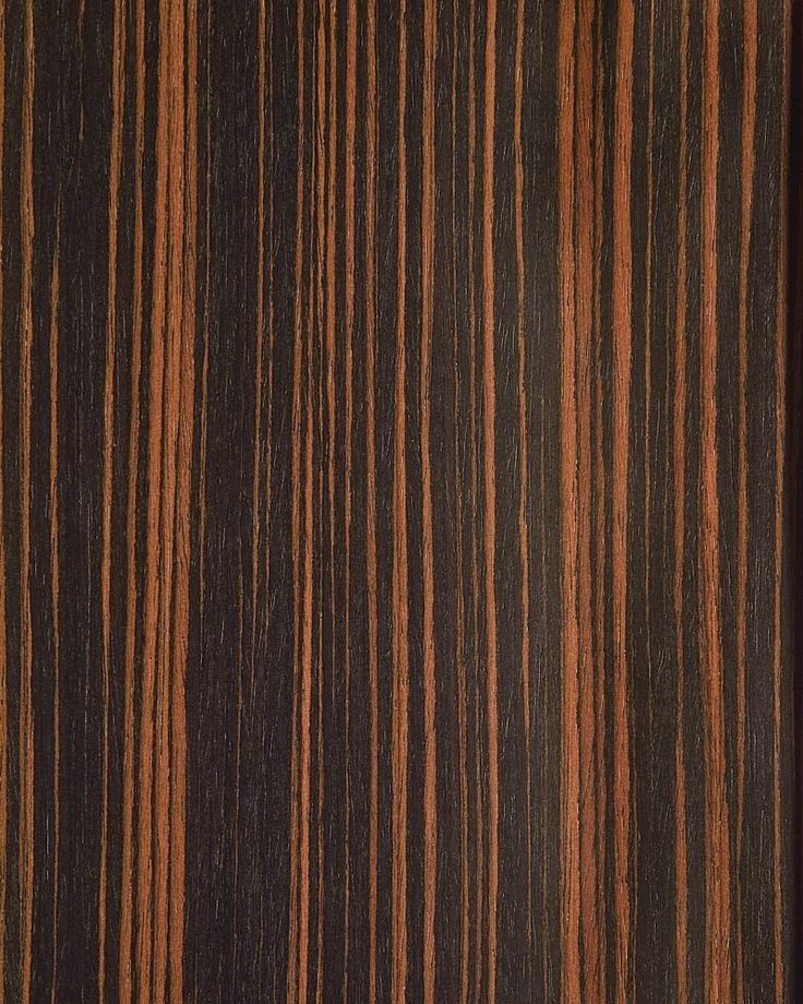 Ebony Straight Grain Veneer Sheet Wood Veneer Polished