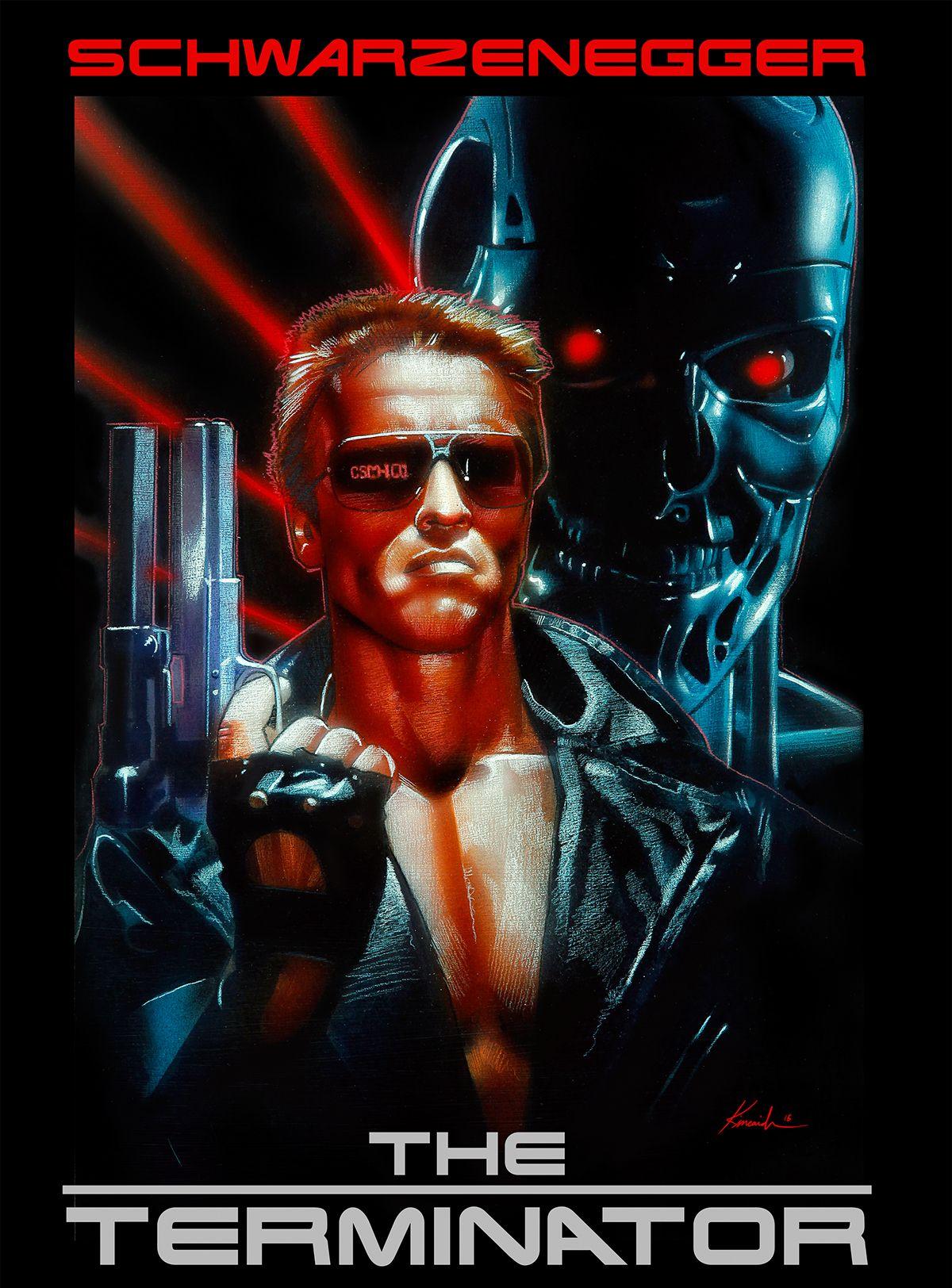 Terminator Poster Art | Art & Design